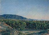 Alexander IVANOV. View of Castellamare from Pompeii. 1846