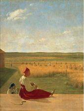 Alexei VENETSIANOV. Harvesting. Summer. Mid-1820s