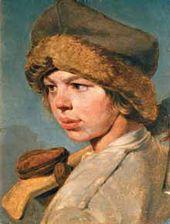 Alexei VENETSIANOV. Zakharka. 1825