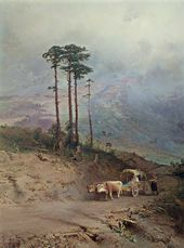 Fyodor VASILIEV. In the Crimean Mountains. 1873