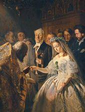 Vasily PUKIREV. The Unequal Marriage. 1862