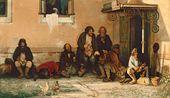 Grigory MYASOYEDOV. The Zemstvo Dines. 1872