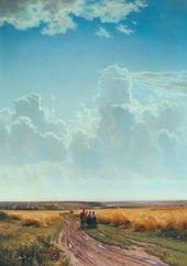Ivan SHISHKIN. Midday in the Neighbourhood of Moscow. 1869