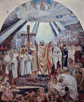 Viktor VASNETSOV. The Baptism of Russia. 1885–1896