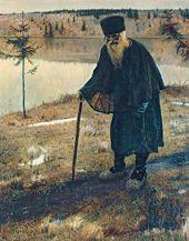Mikhail NESTEROV. A Hermit. 1888–1889