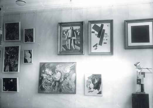 The exhibition at The Tretyakov Gallery. Photo. 1933