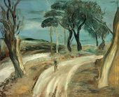 Alexander DREVIN. Road after a Thunderstorm. 1933
