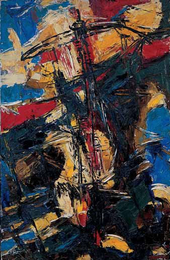 Vladimir Nemukhin. Abstraction. 1962