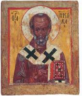 St Nicholas the Miracle-Worker. Late 14th – early 15th century