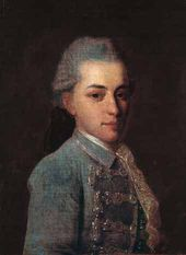 Fyodor ROKOTOV. Portrait of Count I.A.Osterman. Second half of the 1760s
