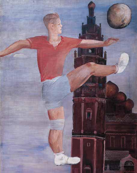 Alexander DEINEKA. Footballer. 1932