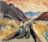 Alexander DREVIN. River Charysh Valley. 1930