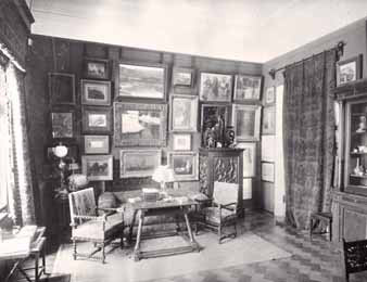 The library in Ostroukhov's house