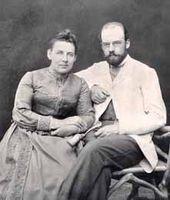Nadezhda Botkina (Ostroukhova), Ilya Ostroukhov. 1889 or early 1890s