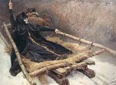 Vasily SURIKOV. Boyarynya Morozova on the Sled. 1884–1887