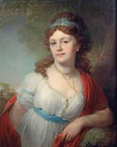 Vladimir BOROVIKOVSKY. Portrait of Elizaveta Grigoryevna Tyomkina. 1798