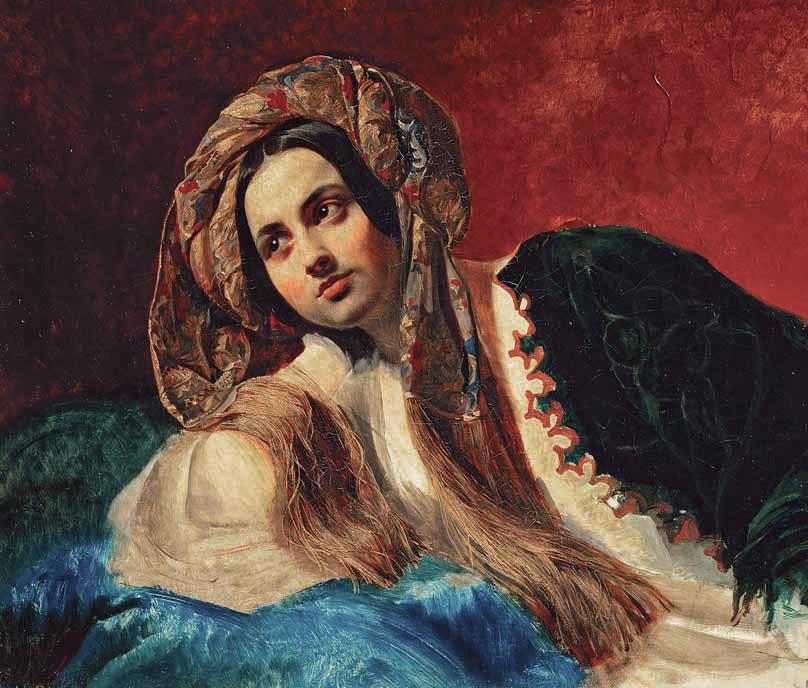 Karl BRYULLOV. A Turkish Girl. 1837–1839
