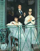Edouard MANET. The Balcony. 1868–1869