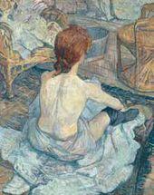 Henri de TOULOUSE-LAUTREC. La Toilette. 1889