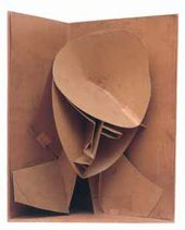 Naum GABO. Model for constructed head n.3. 1917
