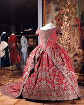 Coronation dress of Empress Catherine I. Russia, 1724