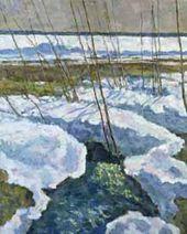 E.I. Zverkov. Spring Brook
