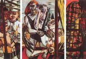 Max Beckmann. Perseus. 1941. Triptich