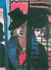 Max Beckmann. Two Women. 1940