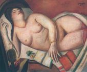 Max Beckmann. Sleeping Woman. 1924