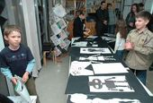 Animation master-class at the Artistic Workshop in the Tretyakov Gallery on Krymsky Val. 20 May 2006