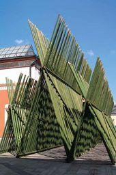 Tetsunori KAVANA. The Tretyakov Gallery beyond Boundaries. 2006. Installation Bamboo