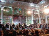 Gala concert dedicated to the 150th anniversary of the Tretyakov Gallery at the Hall of Columns in Moscow. 25 May 2006