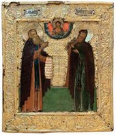 Venerable Dimitriy and Ignatiy. Last third of the 17th century