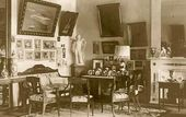 Drawing room in the main house. The 1910s