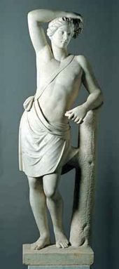 Bacchus. Unknown Russian sculptor. Middle of the 19th century