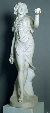Unknown West European sculptor. Maenad. Second half of the 19th century