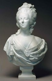 Marie Antoinette. From a model by Felix Lecomte. Italy, a factory in Naples. First third of the 19th