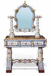 Dressing table. Germany, Meissen. Second half of the 19th century