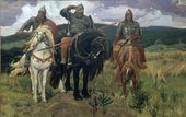 Viktor VASNETSOV. Warrior Knights. 1895