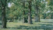 Oak Grove in Abramtsevo. 1883