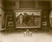 """Warrior Knights"" among exhibits of the Vasnetsov Hall"