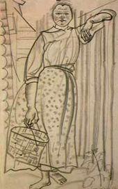 Boris Grigoriev's Drawings