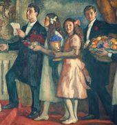 Leonid PASTERNAK. Congratulations. 1914