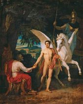 Bellerophon Sets Out Against the Chimera. 1829