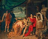 Priam Asking Achilles to Give Him Hector's body. 1824