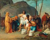 Joseph's Brothers Find the Cup in Benjamin's Sack. 1831–1833