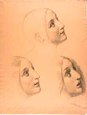 Head of Mary Magdalene. 1833–1835