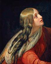 Head of Mary Magdalene. Study