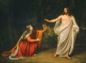 The Appearance of Christ to Mary Magdalene. 1835