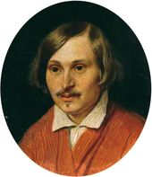 Portrait of Nikolai Gogol. 1841